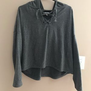 Sweaters - Crop Sweater